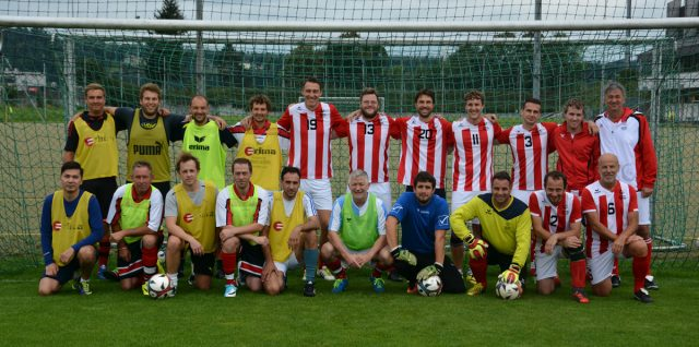 Fußball: Special Olympics Unified Team Austria auf Trainingslager in Vöcklabruck